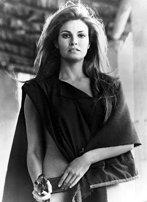 Raquel Welch knew how to wear a gunbelt.