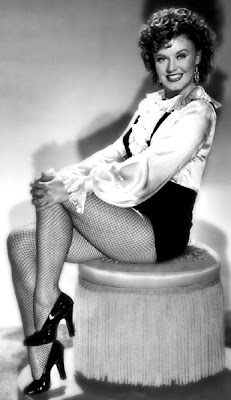 Ginger Rogers as Roxie Hart.