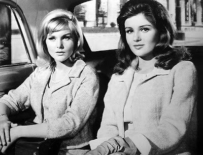 Carol Lynley and Pamela Tiffin, probably from The Pleasure Seekers.