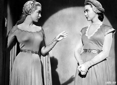 Janet Leigh and Barbara Rush.