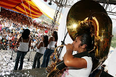 Festival de bandas de viento en Calnali,Hgo.