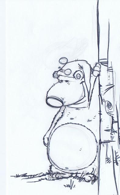 printemps illustration jeunesse crayonné dessin blogger