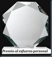 PREMIO AL ESFUERZO
