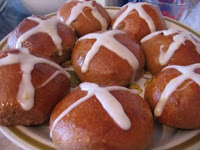 yummy buns with icing