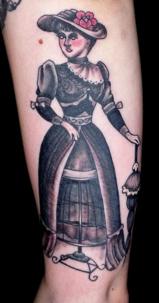 Victorian Man Tattoo Victorian Man Tattoo