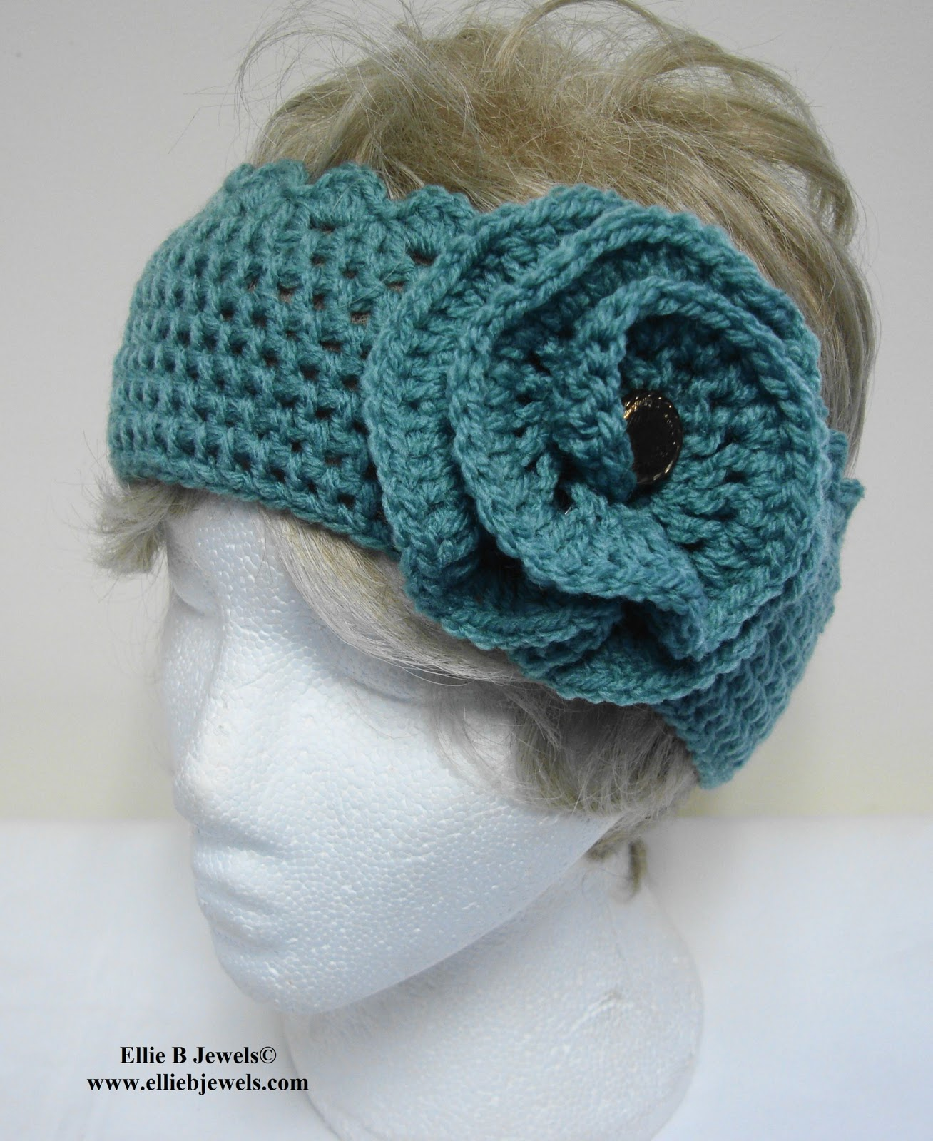 Crochet Ear Warmer : Free Crochet Ear Warmer Pattern