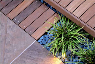 E 111 Or E 11 Eichler Deck Integrate With Yard Stone