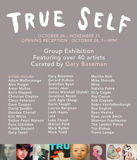 True Self  Group Exhibition  Curated by Gary Baseman  Jonathan Levine gallery
