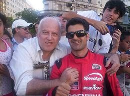 Con Emiliano Spataro