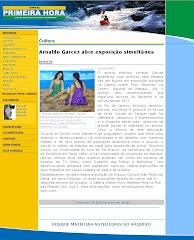 Reportagem sobre as exposições simultâneas BÚZIOS e SÃO PEDRO DA SERRA - 24 set 2009