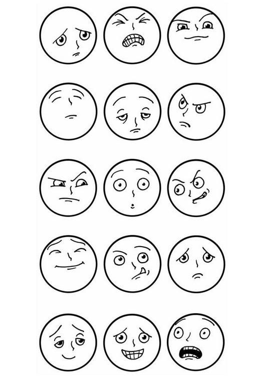 The facial expressions research