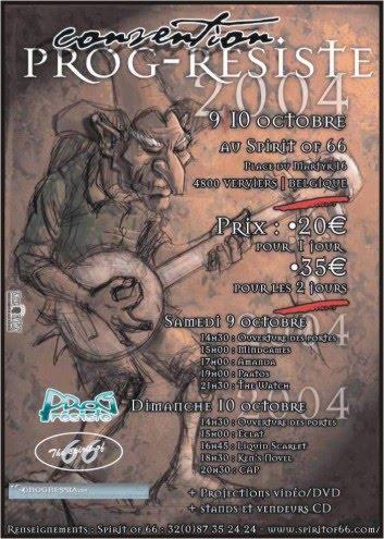 Convetion Prog (9/10 Ottobre 2004)