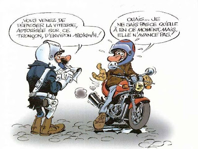 photo blague moto