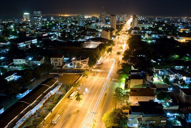 Maputo by Night
