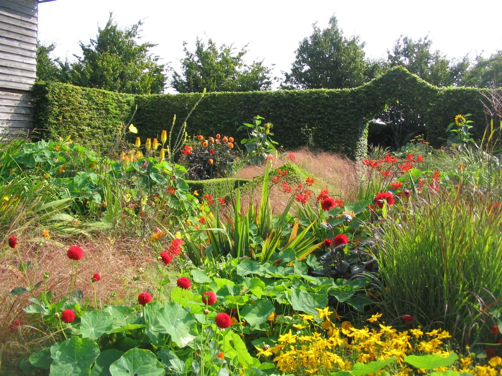 Le jardin de Brigitte - Alsace: Le jardin Plume