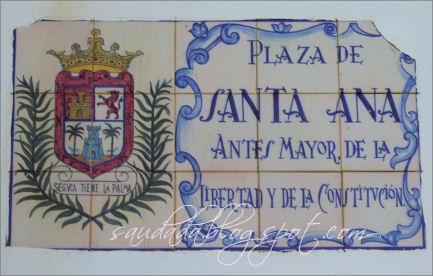 Plaza Santa Ana Las Palmas de Gran Canaria