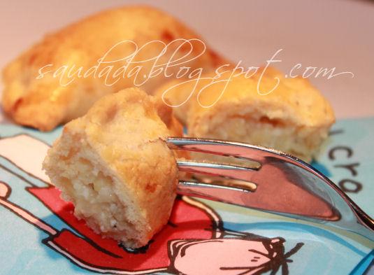 pierogi ruskie pieczone z piekarnika w piekarniku