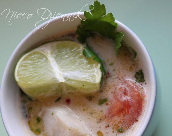 zupa tajska kokosowa rybna