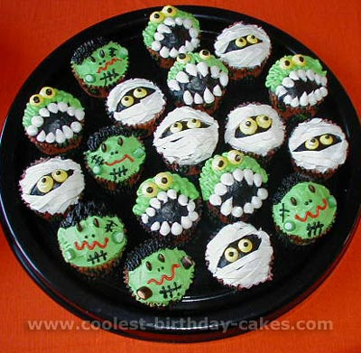 cupcakes ideas. Creepy Cupcakes