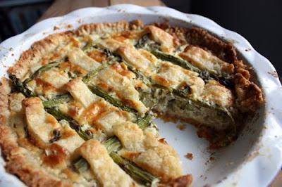 Savory Asparagus pie recipe