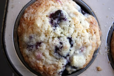 Browned Butter Summer Berry Muffin recipe