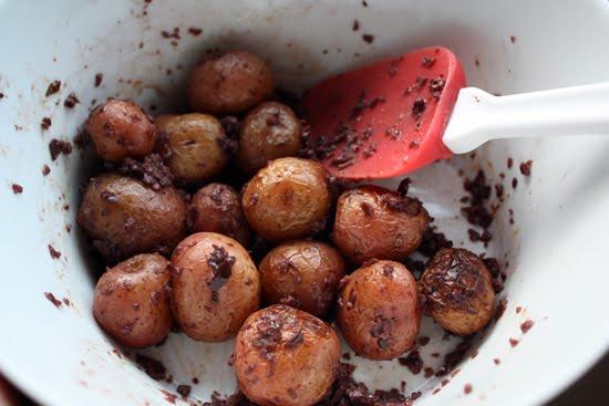 Dirty potatoes recipe