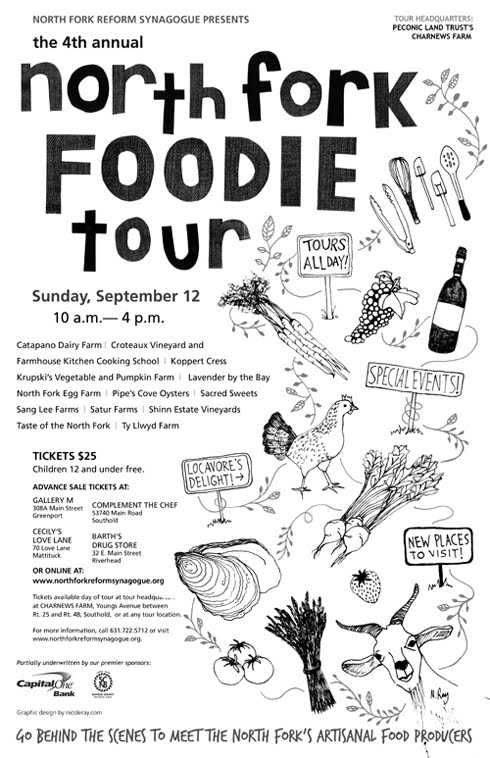 2010 North Fork Foodie Tour