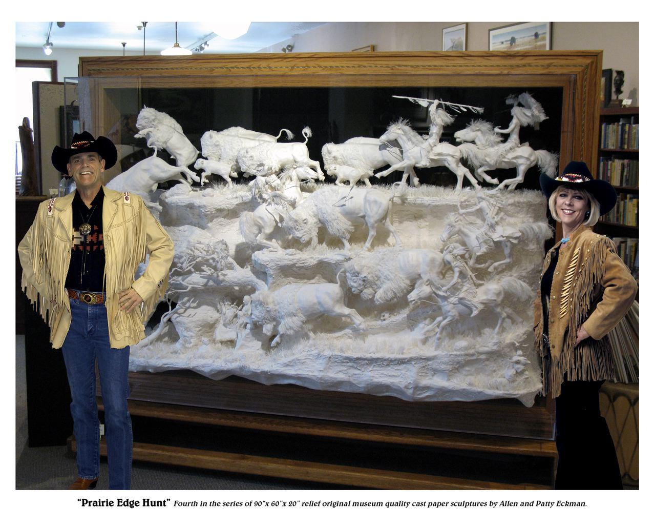 Espectaculares Esculturas en papel