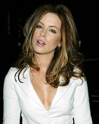 Celebrity Kate Beckinsale Fashinable Hairs 01