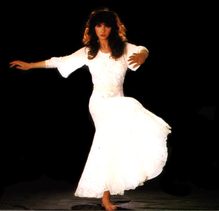 Kate bush white dress