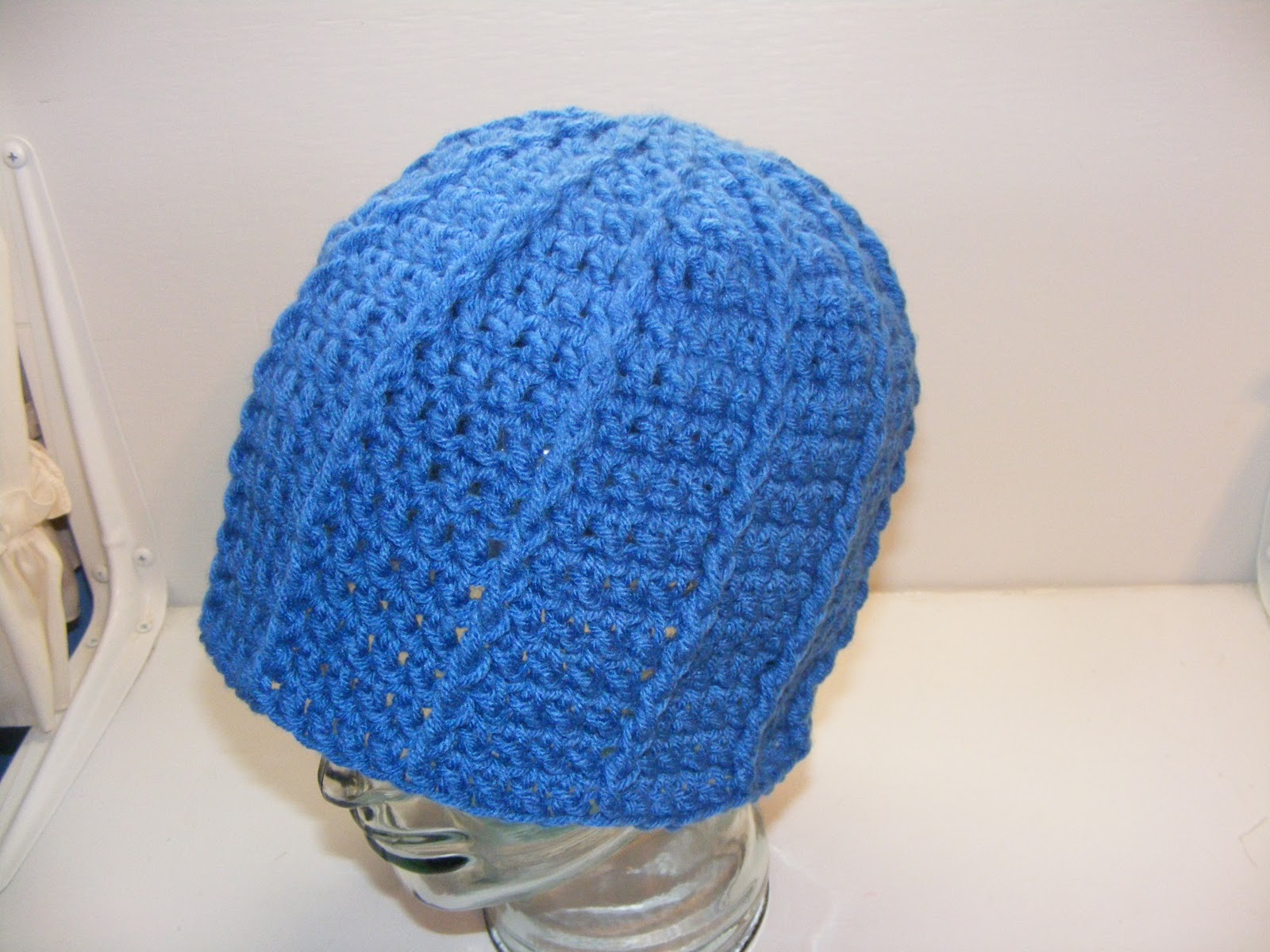 Crochet Fpdc : Basic Hat Pattern: Front Post Double Crochet Hat!