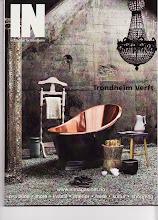 Omtale og bilder i IN Magasinet, for Trondheim, nr. 3 2008
