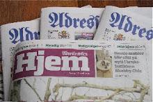 Omtale i Adressavisen, i Hjem-billaget, fredag 17.04.09:
