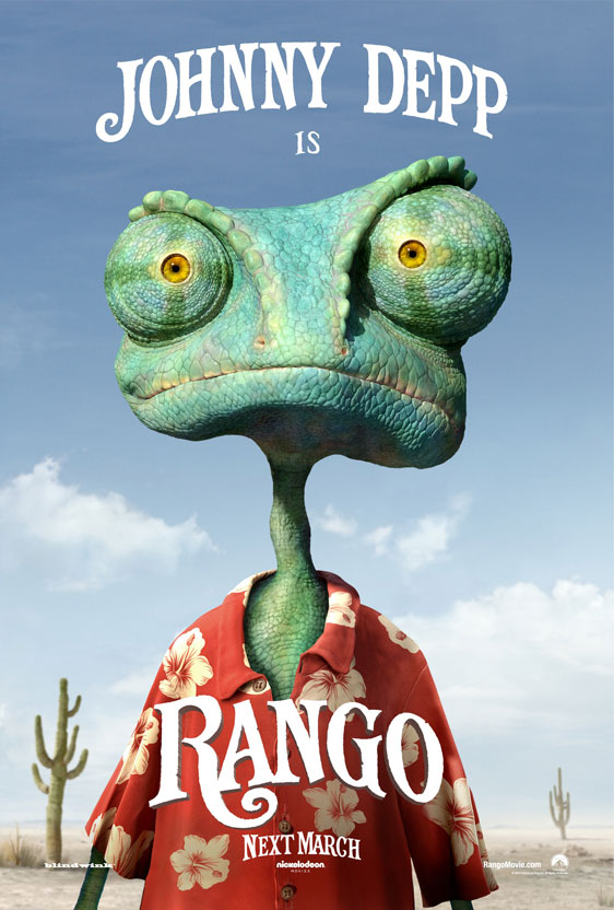 Johnny Depp Rango Interview