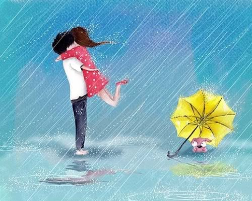 image of love in rain - photo #5