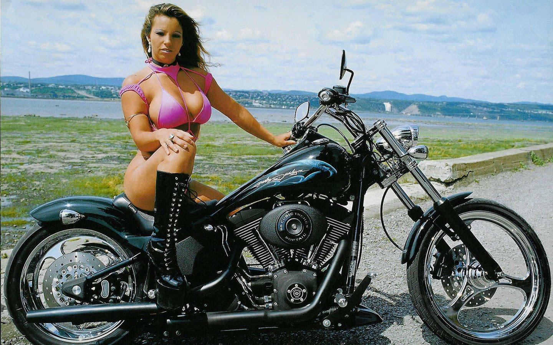 Harley Davidson Female Models Bing images