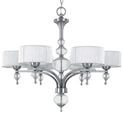 World Imports Beyond Modern Collection 5-Light Chandelier in