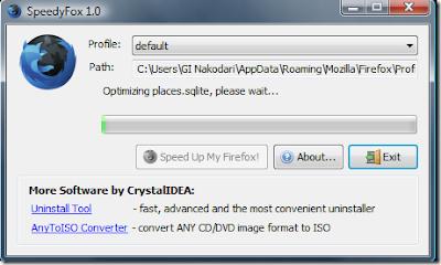Optimalkan Mozilla Firefox Dengan SpeedyFox