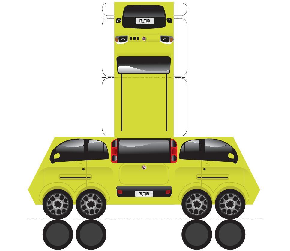 Fiat Lan  A Nova Linha De Carros    De Papel