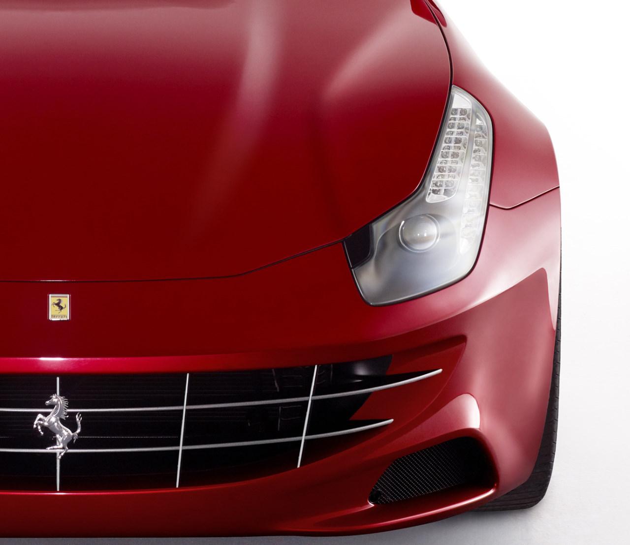 Fotos Oficiais Da Nova Ferrari FF