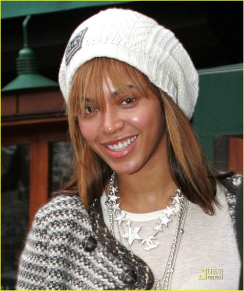 how to be pretty without makeup. beyonce without makeup pretty
