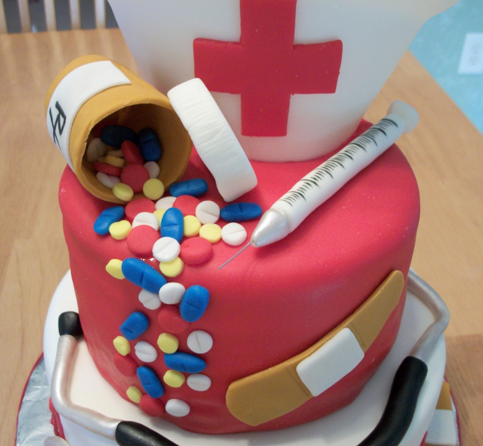 Cake Decorations For Nurses : Pin Nurses Cake Ideas Kootationcom Cake on Pinterest