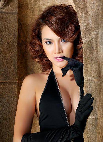 vietnamese model trang nhung hot photoshoot