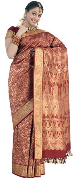 South Indian Bridal Saree 1