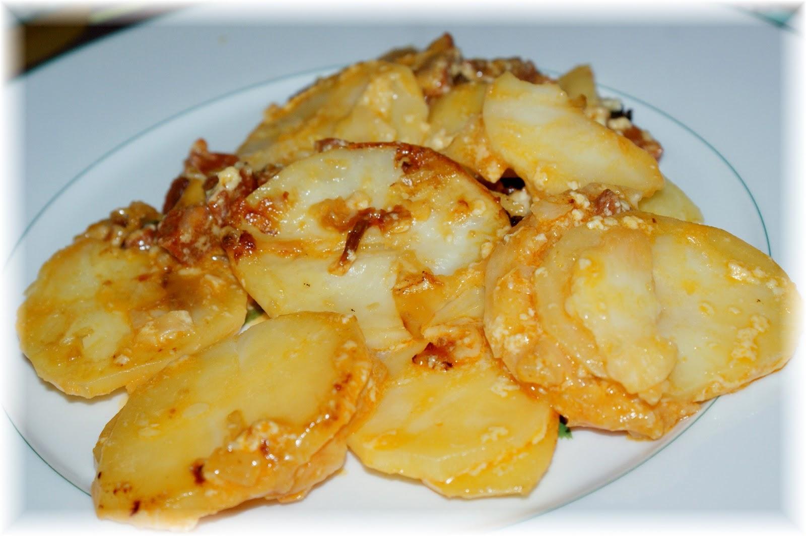F e soi m me gratin de pommes de terre au chorizo - Gratin de pommes de terre au four ...