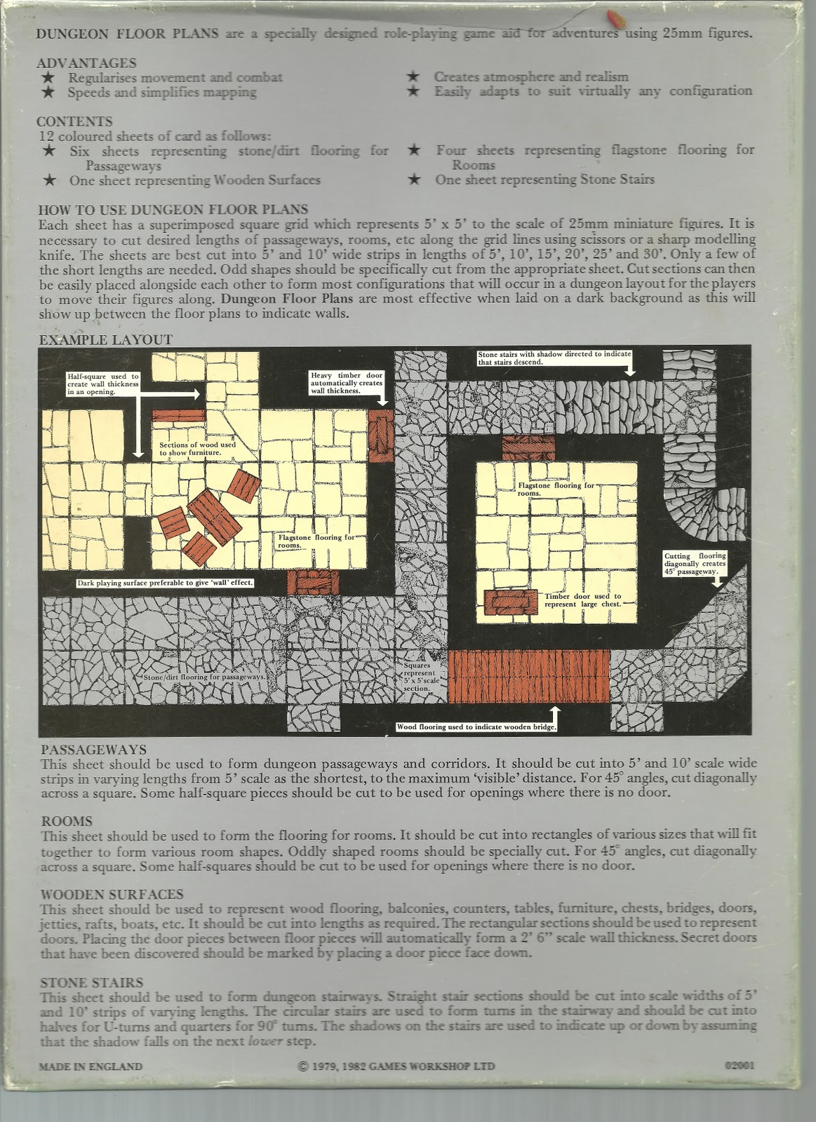 david s rpg dungeon floor plans