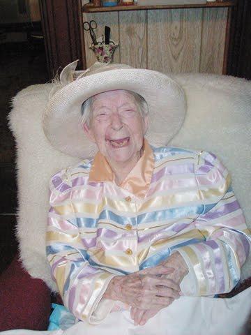 Eunice Sanborn is World's Oldest Woman
