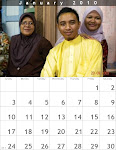 Calendar Januari 2010