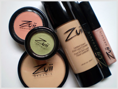 Review :: Zuii Organic USDA Certified Organic Makeup + Watch Them On The