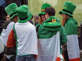 St Patrick's Day, Trafalgar Square